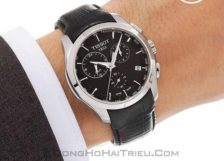 Đồng hồ Tissot T035.439.16.051.00 ba ô chức năng bấm giờ - Ảnh 5