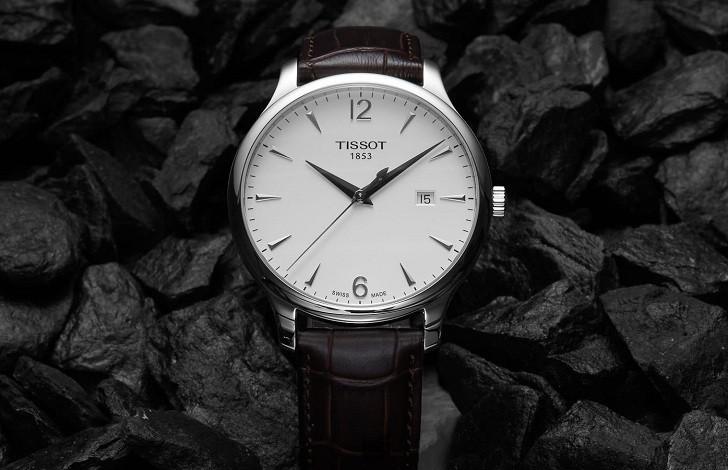 Đồng hồ Tissot T063.610.16.037.00 máy quartz chính xác cao - Ảnh 2