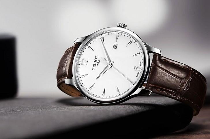 Đồng hồ Tissot T063.610.16.037.00 máy quartz chính xác cao - Ảnh 7