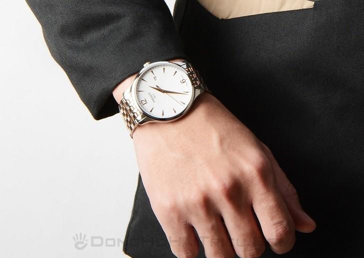 Đồng hồ Tissot T063.610.22.037.01 kính sapphire chống trầy - Ảnh 1