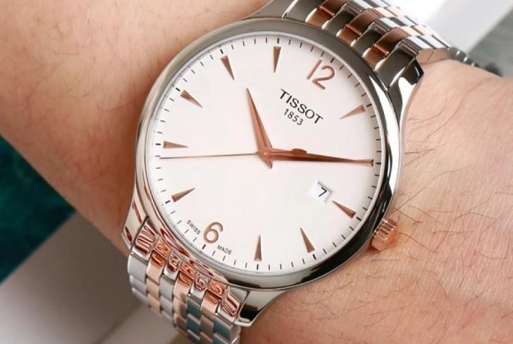 Đồng hồ Tissot T063.610.22.037.01 kính sapphire chống trầy - Ảnh 2