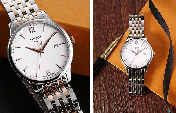 Đồng hồ Tissot T063.610.22.037.01 kính sapphire chống trầy - Ảnh 3