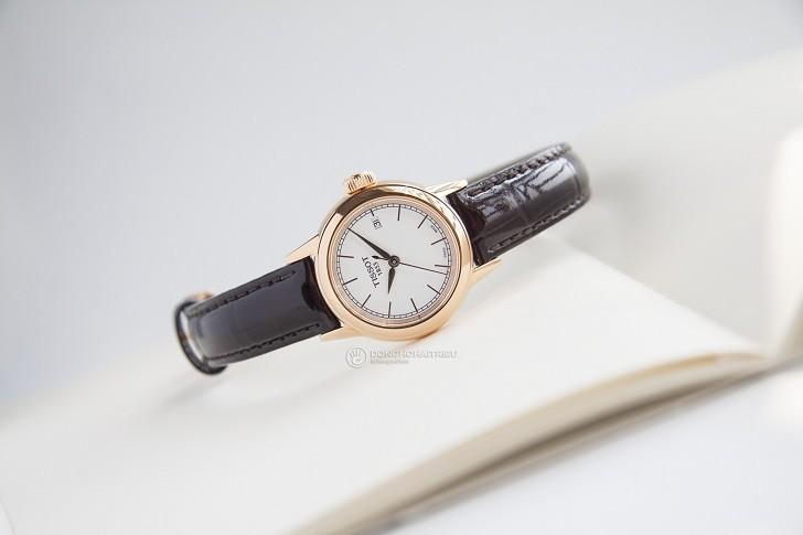 Đồng hồ Tissot T085.210.36.011.00 dây da trơn chính hãng - Ảnh 1