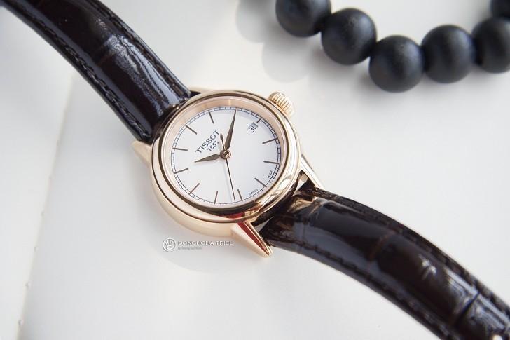 Đồng hồ Tissot T085.210.36.011.00 dây da trơn chính hãng - Ảnh 2