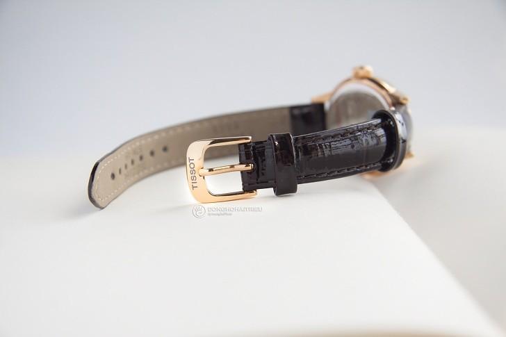 Đồng hồ Tissot T085.210.36.011.00 dây da trơn chính hãng - Ảnh 4