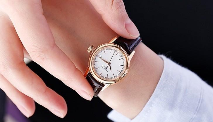 Đồng hồ Tissot T085.210.36.011.00 dây da trơn chính hãng - Ảnh 6