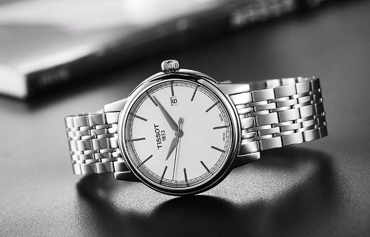Đồng hồ Tissot T085.407.11.011.00 trữ cót lên đến 80 tiếng - Ảnh 4