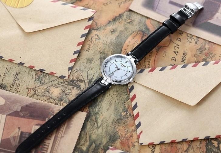 Đồng hồ Tissot T094.210.16.111.00 nền mặt số xà cừ độc đáo - Ảnh 6
