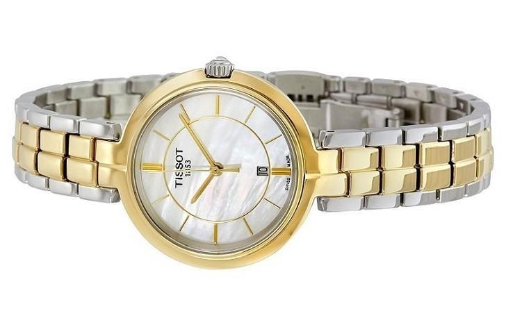 Đồng hồ Tissot T094.210.22.111.01 dây đeo kim loại mạ vàng - Ảnh 3