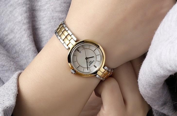 Đồng hồ Tissot T094.210.22.111.01 dây đeo kim loại mạ vàng - Ảnh 6
