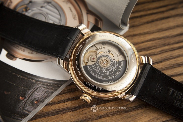 Đồng hồ Tissot T097.407.26.053.00 trữ cót lên đến 80 giờ - Ảnh 6