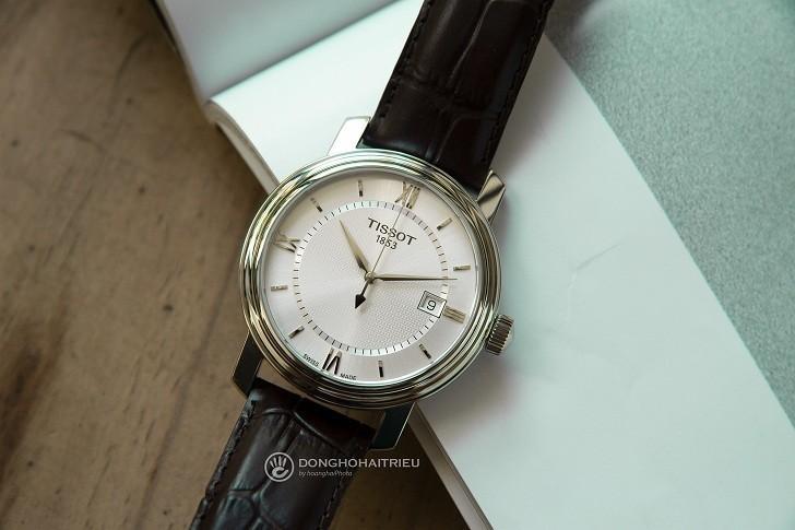 Đồng hồ Tissot T097.410.16.038.00 kính sapphire chống trầy - Ảnh 4
