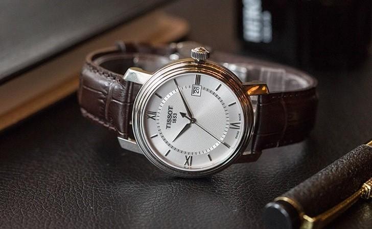 Đồng hồ Tissot T097.410.16.038.00 kính sapphire chống trầy - Ảnh 7