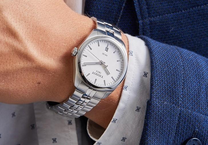 Đồng hồ Tissot T101.407.11.031.00 trữ cót lên đến 80 giờ - Ảnh 1