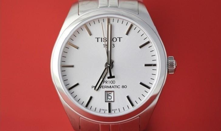 Đồng hồ Tissot T101.407.11.031.00 trữ cót lên đến 80 giờ - Ảnh 2