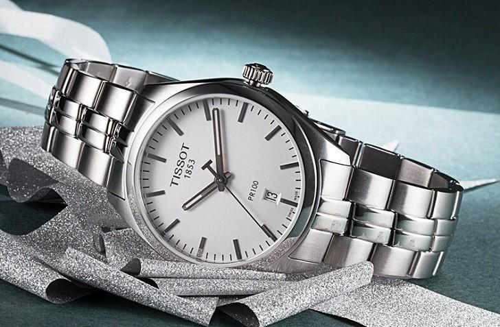 Đồng hồ Tissot T101.407.11.031.00 trữ cót lên đến 80 giờ - Ảnh 4