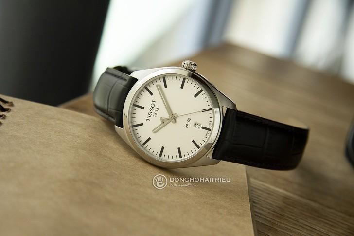 Đồng hồ Tissot T101.410.16.031.00 bộ kim chỉ phủ dạ quang - Ảnh 1