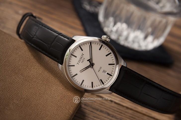 Đồng hồ Tissot T101.410.16.031.00 bộ kim chỉ phủ dạ quang - Ảnh 4