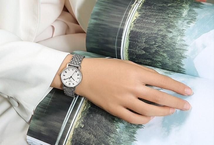Đồng hồ Tissot T109.410.11.033.00 kính sapphire chống trầy - Ảnh 1