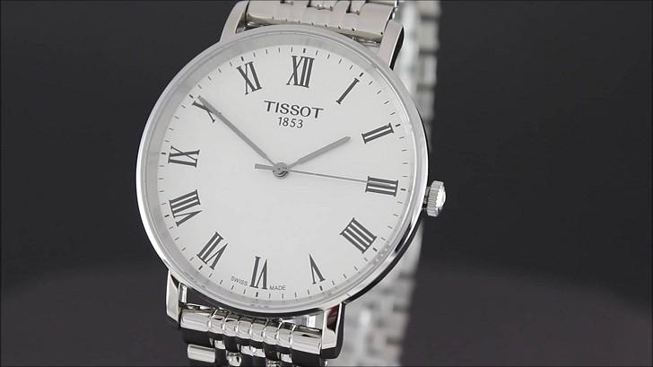 Đồng hồ Tissot T109.410.11.033.00 kính sapphire chống trầy - Ảnh 2