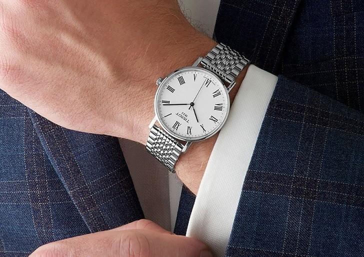 Đồng hồ Tissot T109.410.11.033.00 kính sapphire chống trầy - Ảnh 3
