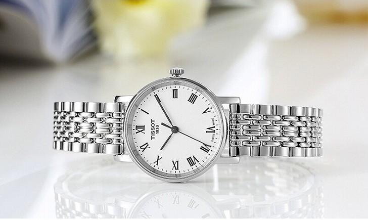 Đồng hồ Tissot T109.410.11.033.00 kính sapphire chống trầy - Ảnh 4