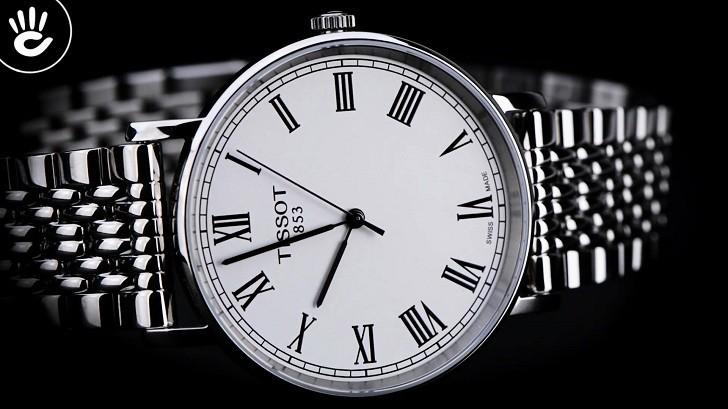 Đồng hồ Tissot T109.410.11.033.00 kính sapphire chống trầy - Ảnh 5