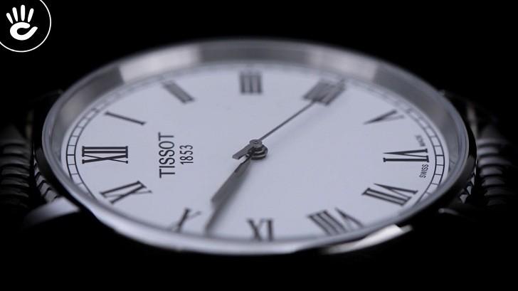 Đồng hồ Tissot T109.410.11.033.00 kính sapphire chống trầy - Ảnh 6