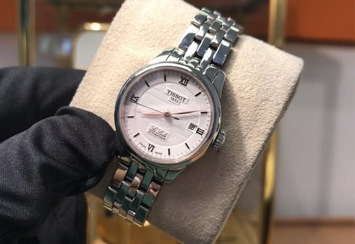 Đồng hồ Tissot T41.1.183.35 chữ hỷ đại diện cho hạnh phúc - Ảnh 2