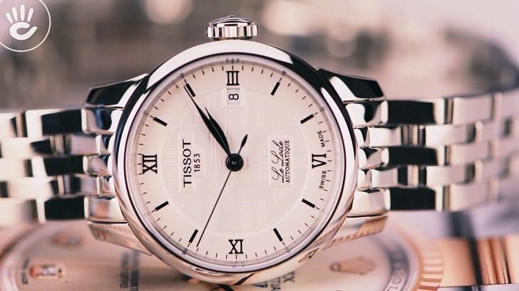 Đồng hồ Tissot T41.1.183.35 chữ hỷ đại diện cho hạnh phúc - Ảnh 4