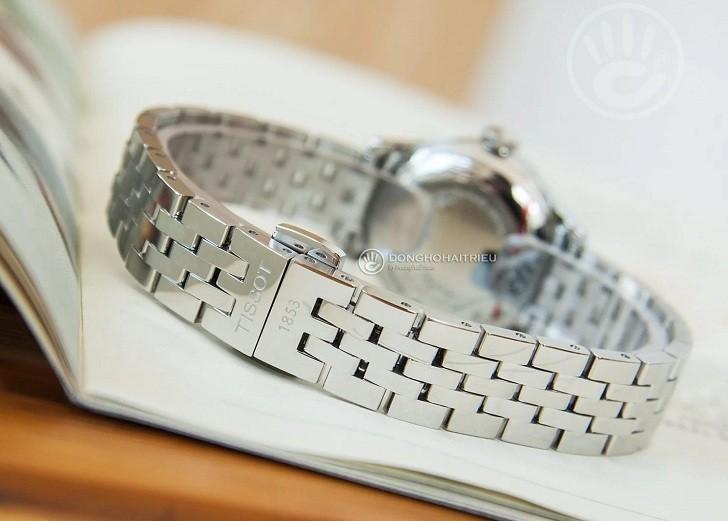 Đồng hồ Tissot T41.1.183.35 chữ hỷ đại diện cho hạnh phúc - Ảnh 5