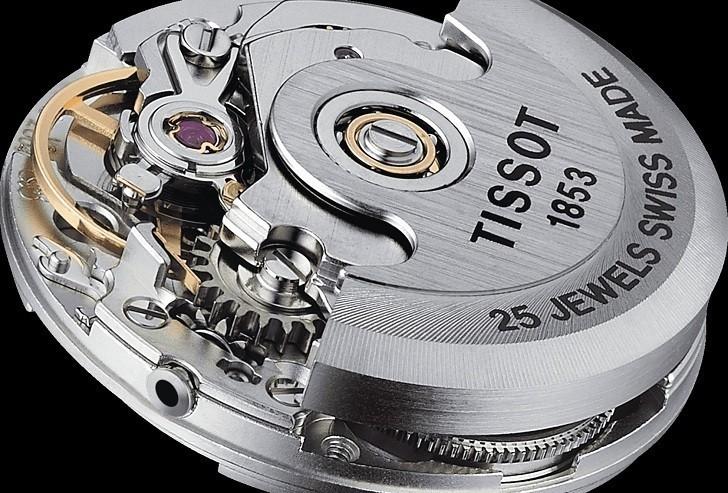 Đồng hồ Tissot T41.1.183.35 chữ hỷ đại diện cho hạnh phúc - Ảnh 6