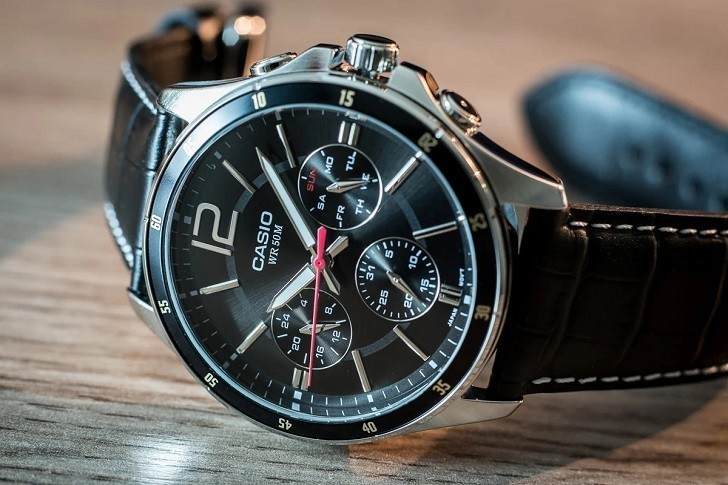 Đồng hồ Casio MTP-1374L-1AVDF 6 kim giá chưa đến 2 triệu - Ảnh: 8