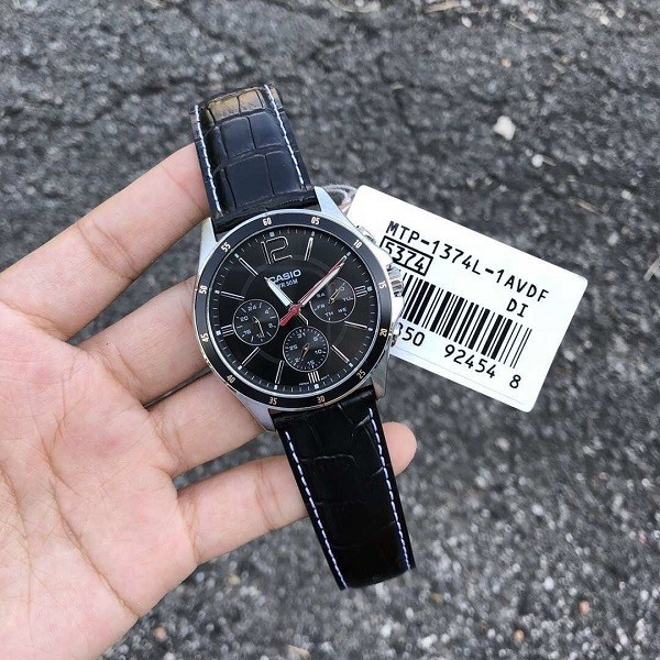 Đồng hồ Casio MTP-1374L-1AVDF 6 kim giá chưa đến 2 triệu - Ảnh: 5