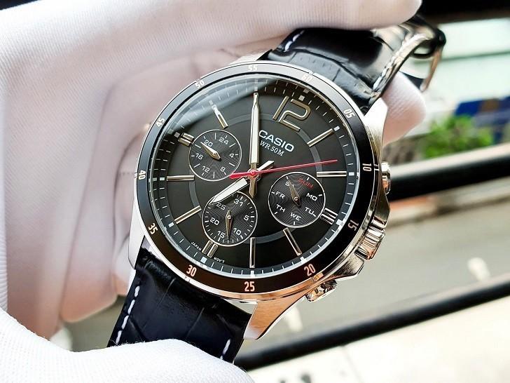Đồng hồ Casio MTP-1374L-1AVDF 6 kim giá chưa đến 2 triệu - Ảnh: 7