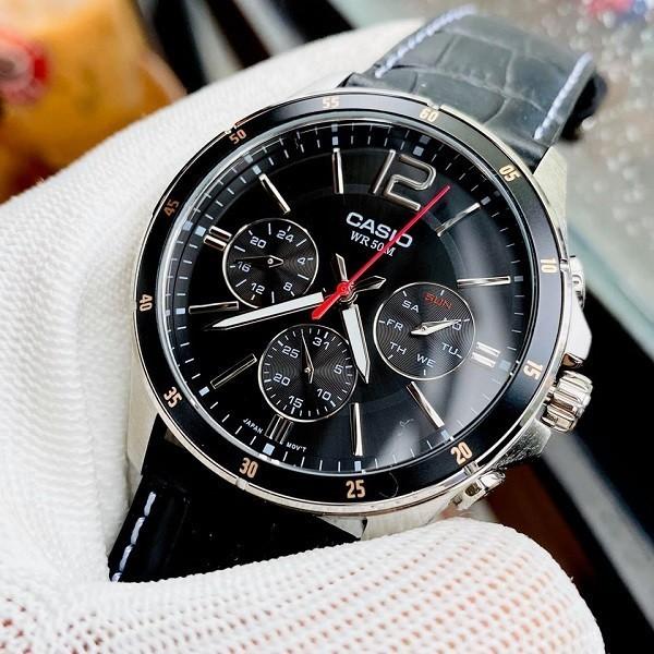 Đồng hồ Casio MTP-1374L-1AVDF 6 kim giá chưa đến 2 triệu - Ảnh: 1