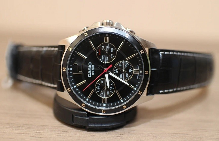 Đồng hồ Casio MTP-1374L-1AVDF 6 kim giá chưa đến 2 triệu - Ảnh: 2