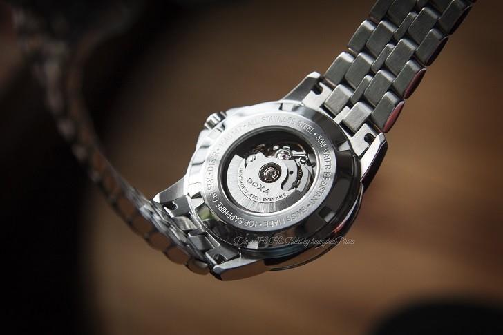 Đồng hồ Doxa D153RSV máy cơ, trang trí họa tiết Guilloché - Ảnh: 2