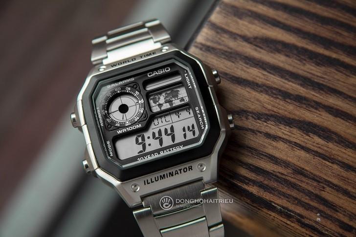 Đồng hồ Casio AE-1200WHD-1AVDF chính hãng - Ảnh: 2