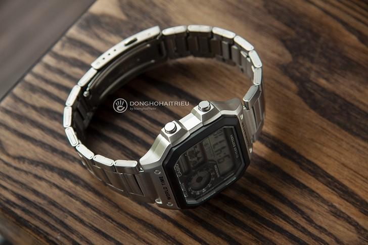 Đồng hồ Casio AE-1200WHD-1AVDF chính hãng - Ảnh: 8
