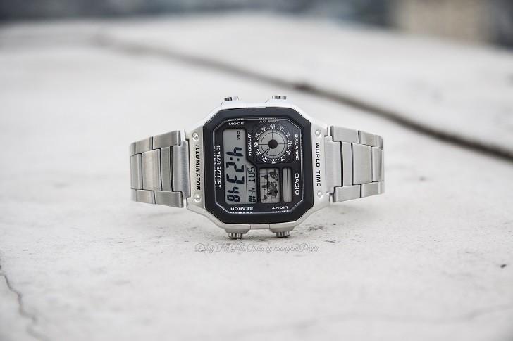Đồng hồ Casio AE-1200WHD-1AVDF chính hãng - Ảnh: 9
