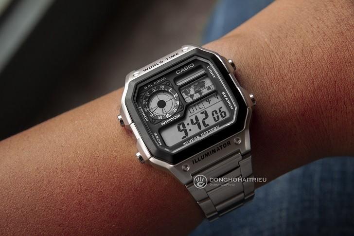 Đồng hồ Casio AE-1200WHD-1AVDF chính hãng - Ảnh: 7
