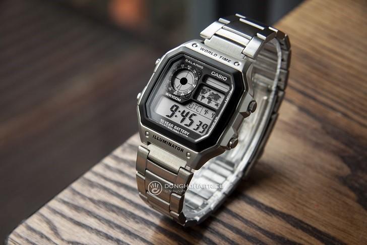 Đồng hồ Casio AE-1200WHD-1AVDF chính hãng - Ảnh: 6