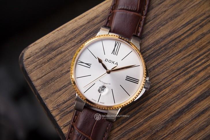 Đồng hồ nam Doxa 130.60.022.02, máy tự động Thụy Sỹ bền bỉ - Ảnh: 1