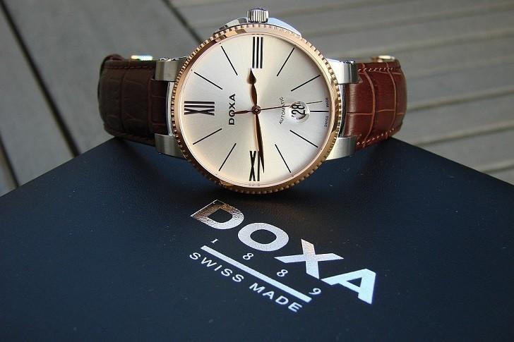 Đồng hồ nam Doxa 130.60.022.02, máy tự động Thụy Sỹ bền bỉ - Ảnh: 4