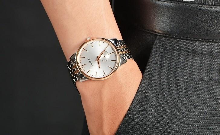 Đồng hồ nam Doxa D155RWH, siêu mỏng, chất lượng Thụy Sỹ - Ảnh: 1