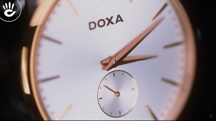 Đồng hồ nam Doxa D155RWH, siêu mỏng, chất lượng Thụy Sỹ - Ảnh: 4