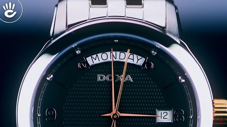 Đồng hồ nam Doxa D167RBK trang bị máy cơ chuẩn Thụy Sỹ - Ảnh: