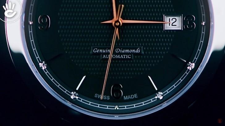 Đồng hồ nam Doxa D167RBK trang bị máy cơ chuẩn Thụy Sỹ - Ảnh: 4