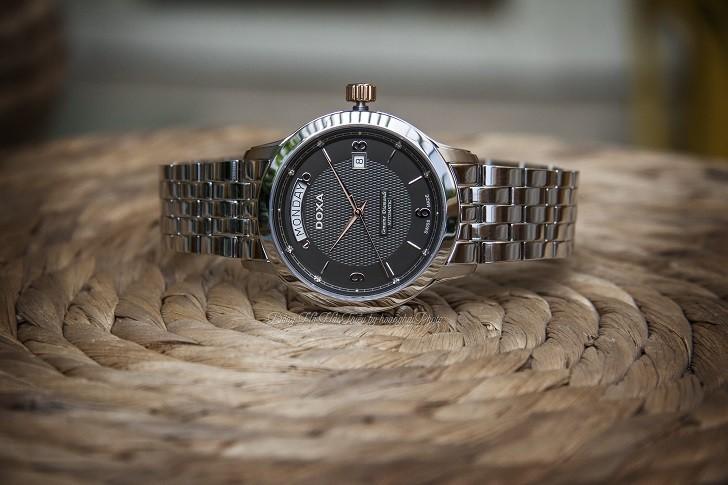 Đồng hồ nam Doxa D167RBK trang bị máy cơ chuẩn Thụy Sỹ - Ảnh: 1